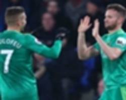crystal palace 1 watford 2: substitute cleverley seals comeback