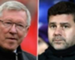 'the best in the history of football' - pochettino reveals his admiration for sir alex ferguson