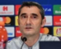 valverde confirms barcelona 'have space' for new striker amid morata rumours
