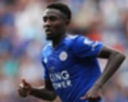 wilfred ndidi scores second goal of the season in leicester city's loss