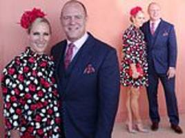 Zara Tindall and husband Mike join a slew of Australian celebrities at Magic Millions race day