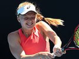 britain's harriet dart is thrilled to face maria sharapova at the australian open
