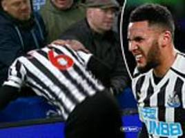 jamal lascelles takes a tumble, ciaran clark loves a header and do not watch newcastle