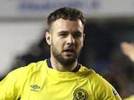 millwall 0-2 blackburn: substitute adam armstrong shines for visitors