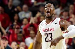 Bruno Fernando's 25 point double-double helps Maryland upset No. 22 Indiana