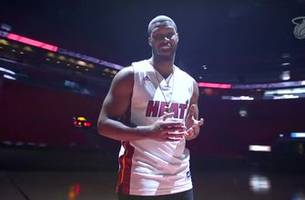 get ready for the heat's kids day with the dynamic branden wellington