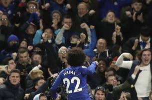 chelsea strengthens hold on 4th place by beating newcastle