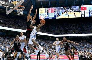 Louisville upset No. 12 North Carolina