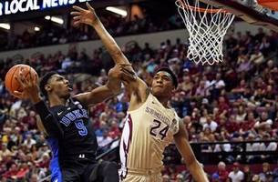 cam reddish hits 3-pointer with 0.8 seconds left in regulation as no. 1 duke stuns no. 13 florida state 80-78