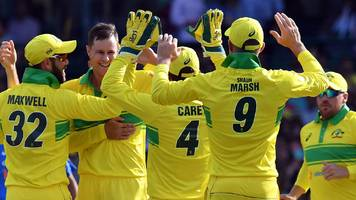 Australia v India: Rohit Sharma century in vain as Australia win opening ODI