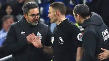 cardiff city 0-0 huddersfield town: david wagner angered by penalty controversy