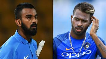 pandya and rahul banned by india following comments about women