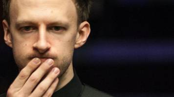 snooker duo trump & wilson not so pally at ally pally