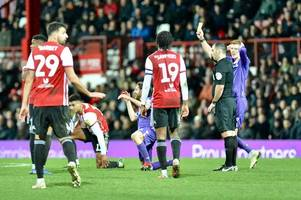 players take a pounding as fans deliver their verdict on nathan jones' first game in charge