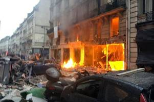at least 20 injured and some fighting for their lives after paris bakery explosion