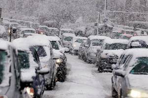 deep freeze and six inches of snow heading to britain