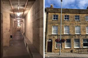 how you could live in an old bank with an underground vault