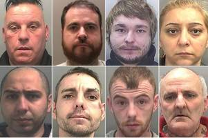 locked up: the criminals jailed in wales since the start of january