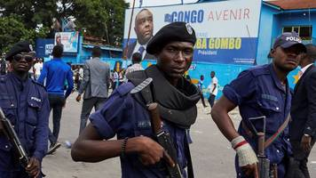 dr congo election: police deploy near home of candidate martin fayulu