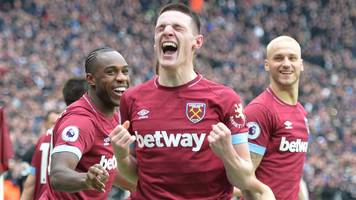 west ham teenager rice gives hammers rare win over arsenal