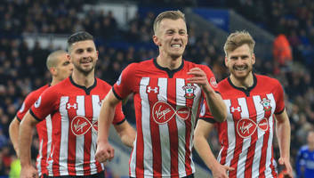 leicester 1-2 southampton: report, ratings & reaction as 10-man saints down sorry foxes