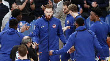pistons' blake griffin ignores clippers owner steve ballmer in return to los angeles