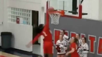 watch: stanford commit fran belibi completes insane alley-oop