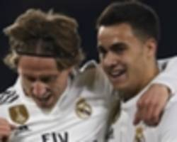 real madrid escape betis with win behind late ceballos goal