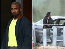 police chase ends with a wanted felon being shot dead by cops outside kanye west's yeezy office