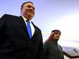 saudi arabia must hold jamal khashoggi's killers 'accountable', pompeo vows