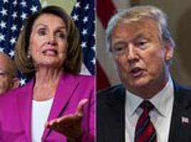 trump says if the democrats don't come to their senses he will declare a national emergency