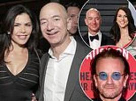 jeff bezos reportedly shared wife's pillow talk with lover lauren sanchez