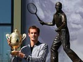 Andy Murray to see career recognised at Wimbledon with statue at SW19