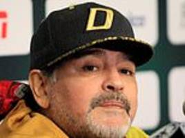 diego maradona admitted to a clinic in buenos aries as he undergoes procedure on stomach bleeding