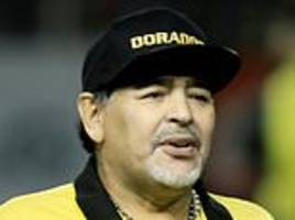 diego maradona recovering in hospital after successful operation on stomach bleeding