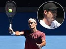 i'm shocked we're going to lose legend andy murray, says roger federer