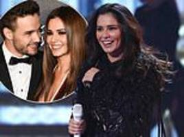 cheryl and son bear did spend christmas with liam payne