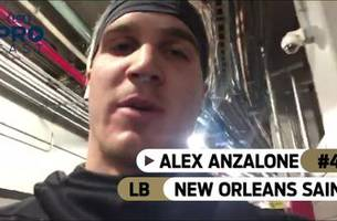 'The 'Dome's gonna be rocking': Saints LB Alex Anzalone is pumped before taking on the Eagles