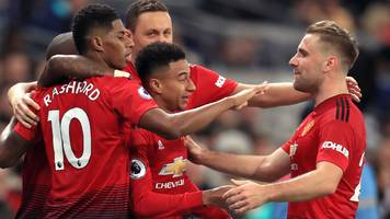Tottenham 0-1 Manchester United: Ole Gunnar Solskjaer says his team earned the right to win