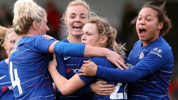Arsenal Women 1-2 Chelsea Women: Erin Cuthbert scores twice as Blues beat leaders