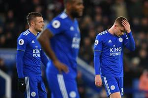 leicester city are stuck in a vicious circle at home