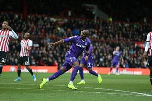 brentford 3, stoke city 1: final word on a manager needing a hard hat for re-building job ahead
