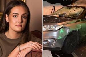 clubber relives horror after maniac ploughs car into blake's nightclub in gravesend and runs her down