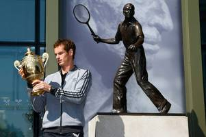 Andy Murray to be honoured with Wimbledon statue after announcing retirement