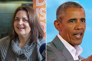 ruth jones had dinner with barack obama and he loved her welsh accent