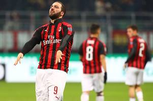 latest chelsea transfer rumours: higuain decision, paredes hints at move, willian going nowhere