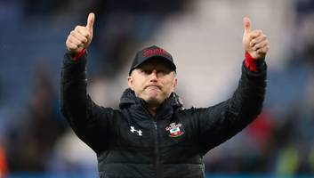 ralph hasenhuttl praises southampton players' passion after hard-fought win over leicester