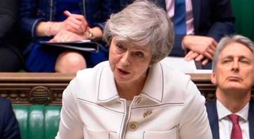 Prime Minister May tells DUP EU assurances have 'legal force' - suggests hard border in no-deal Brexit