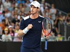 Andy Murray walks out on court at the Australian Open for what could be his final game ever
