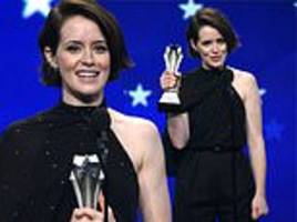 claire foy reveals her self-doubt and pledges to be 'brave' at critics' choice awards